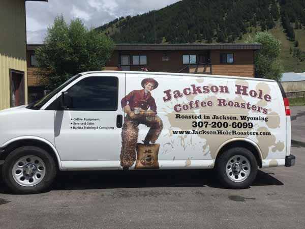 Exposure Signs Business Signs Jackson Wyoming - Modern business vehicle decals