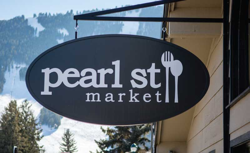 pearl street business sign Our Portfolio   Restaurant and Retail Signs in Jackson WY