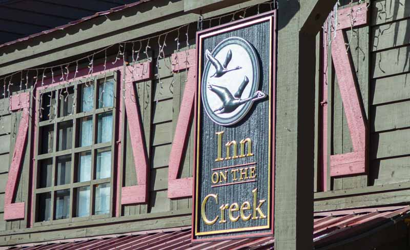custom signs inn on the creek 1 Home   Business Signs in Jackson, WY