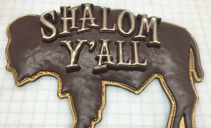 custom signs shalom 2 Our Portfolio   Restaurant and Retail Signs in Jackson WY